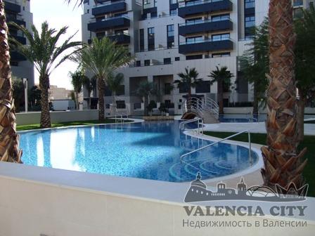 Элитные апартаменты в закрытой резиденции, Валенсия