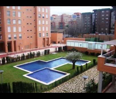 Сдается квартира в частной резиденции. Nou Campanar. Валенсия.