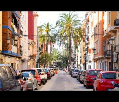 Туристические апартаменты, пляж Мальвароса, Валенсия