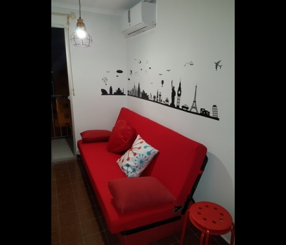 Меблированная квартира  для студентов в районе Мальвароса