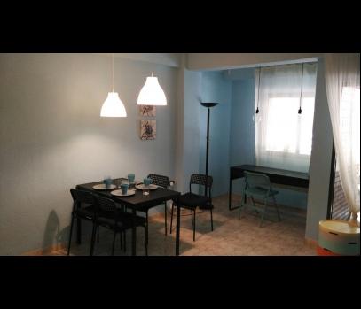 Аренда уютной квартиры с террасой рядом с парком Турия, Валенсия
